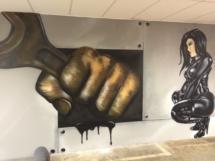 Spray Art by Ronald duikersloot Tony Dice