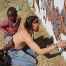 Ronnie D + Soweto kids