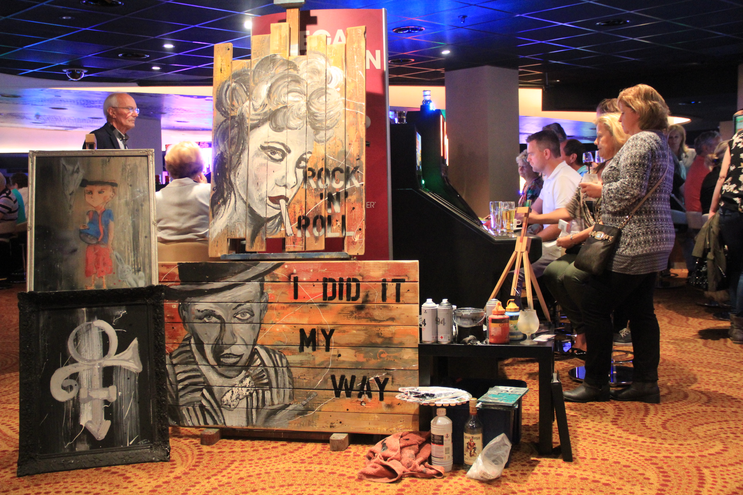 Holland Casino Eindhoven | Live painting