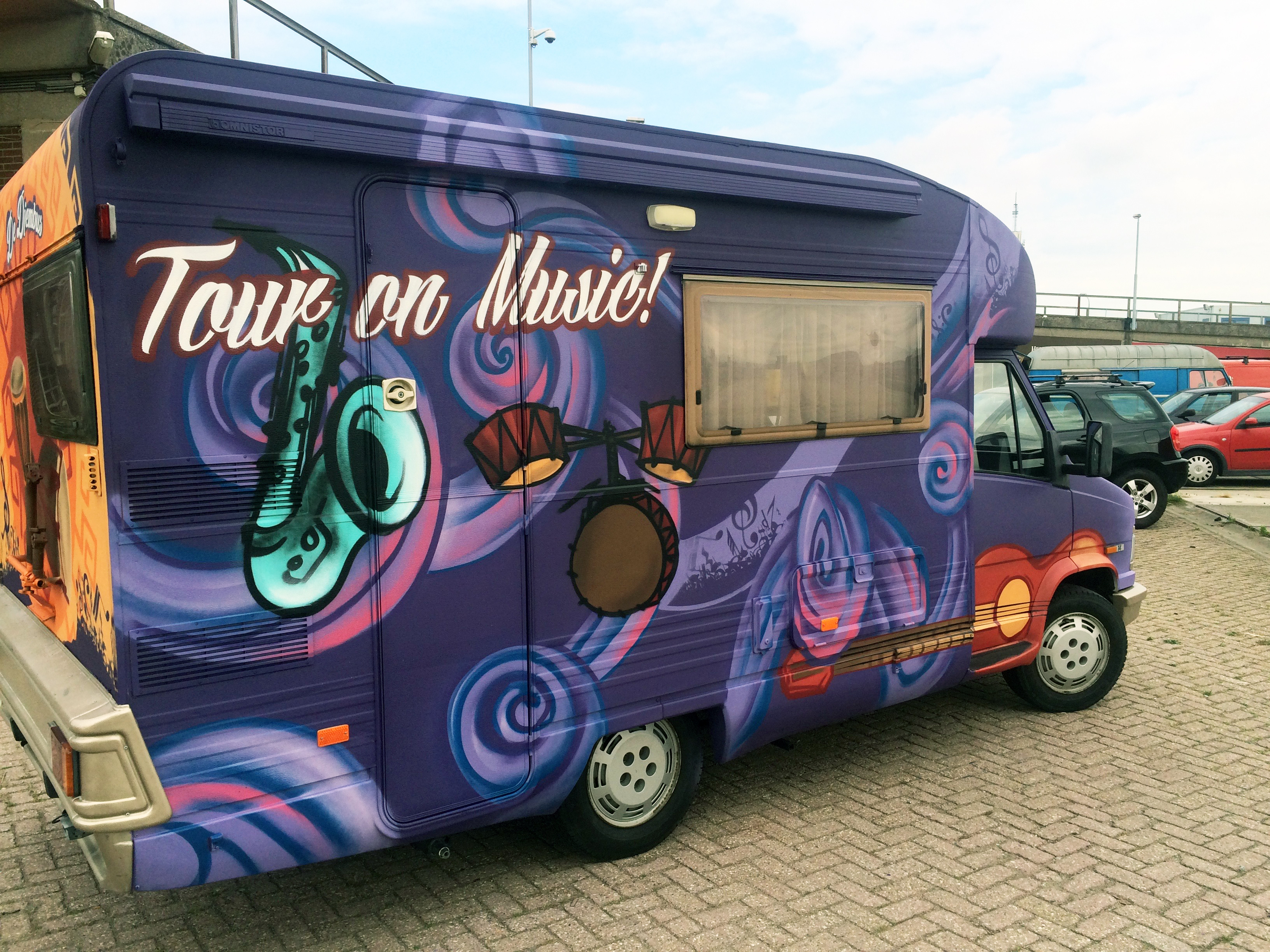 Music on Tour | AZC tour bus