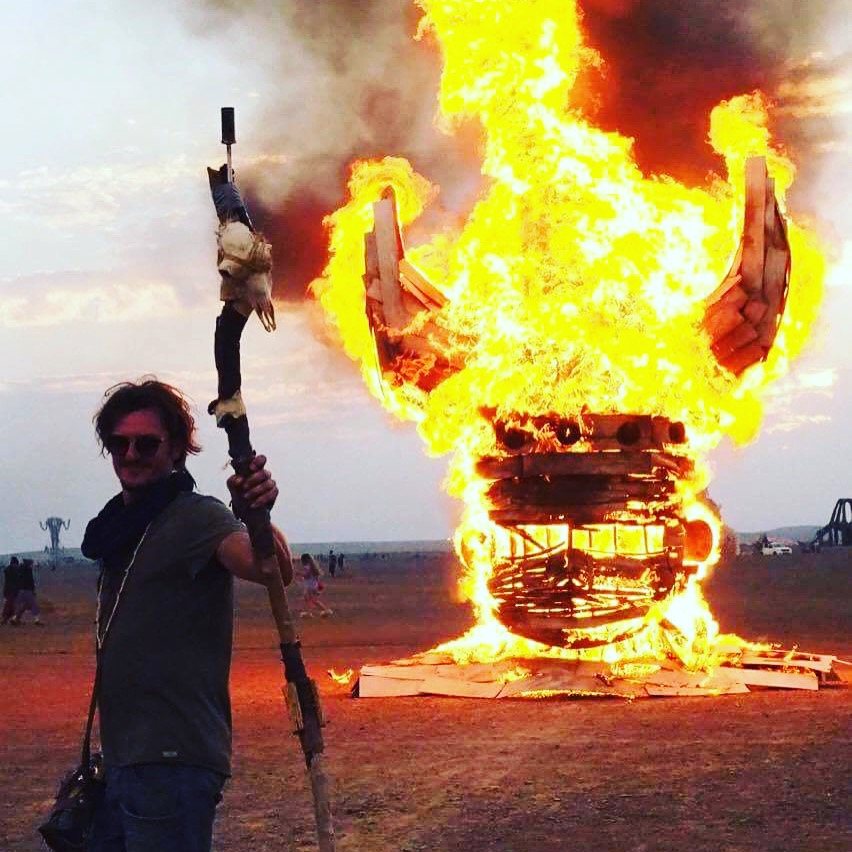 big baby viking Afrikaburn 2017