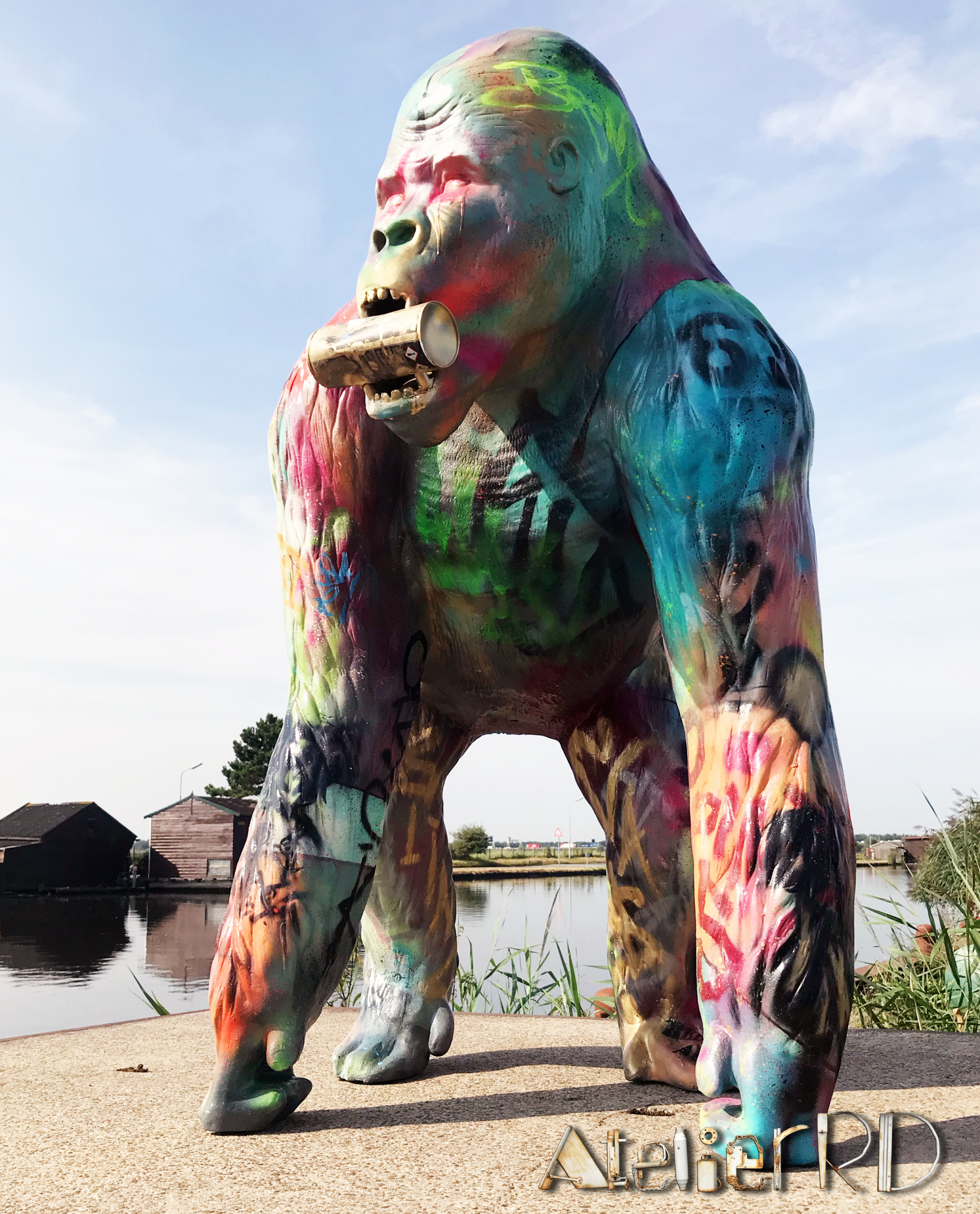 Ghetto Gorilla | art sculptures